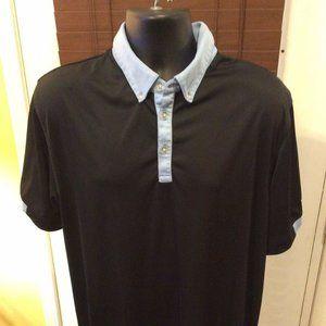 Callaway Golf Polo Shirt XL Black Polyester